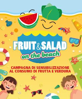 Fruit & Salad on the Beach
